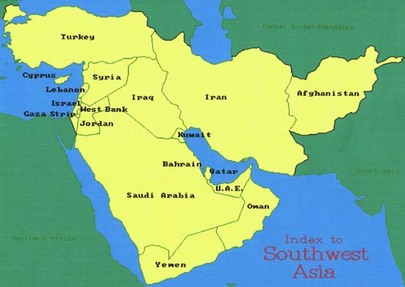 Southwest Asia Map Political.Geography Bryant S Seventh Grade Social Studies